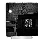 Trailer Home Shower Curtain