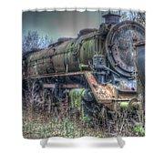 Train 12 Shower Curtain