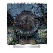 Train 2 Shower Curtain