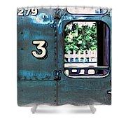 Train 4279 Shower Curtain