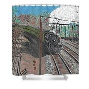 Train 641 Shower Curtain