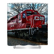 Train - Canadian Pacific 5690 Shower Curtain