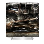 Train - Engine - 1218 - Nw Type-a 1218 Steam 2-6-6-4 Shower Curtain