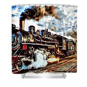 Train II Shower Curtain