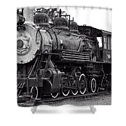 Train In Garibaldi Shower Curtain