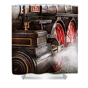 Train - Let Off Some Steam  Shower Curtain