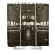Train Ride Shower Curtain