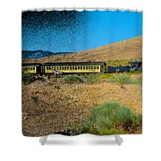 Train-sitions Shower Curtain