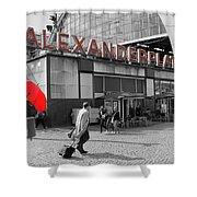 Train Station Alexanderplatz Shower Curtain