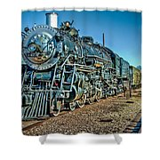 Train Travel Shower Curtain
