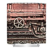 Train Wagon Shower Curtain