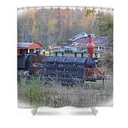 Trains Planes And Automobiles Shower Curtain