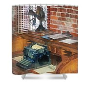 Trains - Station Master's Office Shower Curtain