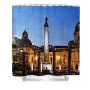 Trajan's Column Shower Curtain