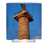 Trajans Column Shower Curtain