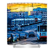 Tramway A Shower Curtain