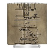 Tramway Fender Patent Shower Curtain