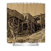 Tramway Headhouse Shower Curtain