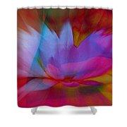 Trancendent Lotus Shower Curtain