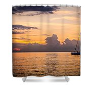 Tranquil Cruise Shower Curtain