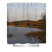 Tranquil Lake Shower Curtain