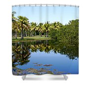 Tranquil Pond Shower Curtain