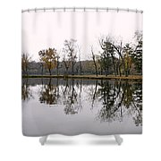 Tranquil Reflections Shower Curtain
