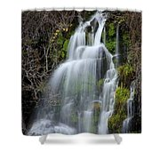 Tranquil Waterfall Shower Curtain