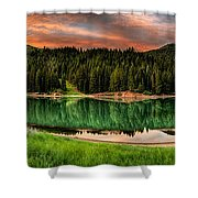 Tranquility Shower Curtain by Brett Engle