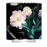 Tranquility In The Garden Shower Curtain