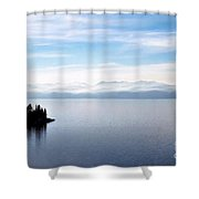 Tranquility - Lake Tahoe Shower Curtain