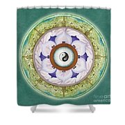 Tranquility Mandala Shower Curtain
