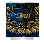 Trans Am Eagle Shower Curtain