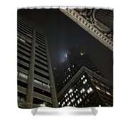 Transamerica Fog Shower Curtain