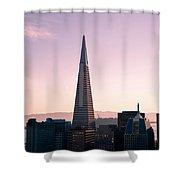 Transamerica Pyramid Shower Curtain