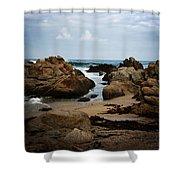 Transcend - Monterey, California Shower Curtain