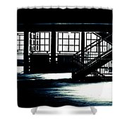 Transcendental Watcher Shower Curtain
