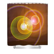 Transending Shower Curtain by Jeff Swan