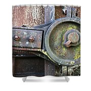 Transfer Of Power Shower Curtain by Jeff Mize