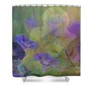 Transformation Shower Curtain by PainterArtist FIN