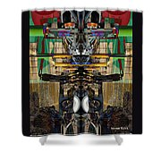 Transformers Transition Hcc Sw Parking Lot  Shower Curtain