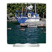 Transients Shower Curtain