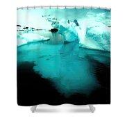 Transparent Iceberg Shower Curtain