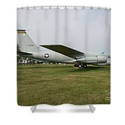 Transportation - Us Air Force - Airplane  Shower Curtain