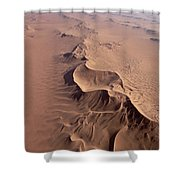 Transverse Sand Dune Namib-naukluft Np Shower Curtain