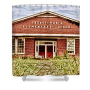 Transylvania Elementary Shower Curtain