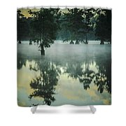 Trap Pond 5 Shower Curtain