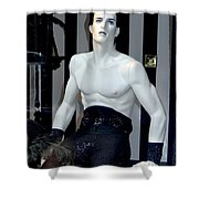 Trapeze Tom Shower Curtain