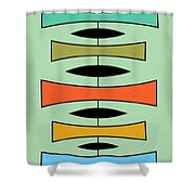 Trapezoids 2 Shower Curtain