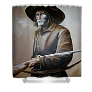 Trapper Shower Curtain